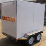 Enclosed 2.7 Ton GVM trailer2