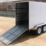 Enclosed 2.7 Ton GVM trailer3
