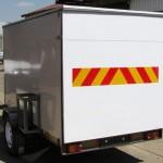 Enclosed 900kg trailer1