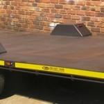 Flat deck 4.5m x 2m 1.5 ton trailer