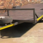 Flat deck 4.5m x 2m 1.5 ton trailer1
