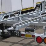 Galvanized double jet ski trailer