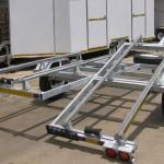 Galvanized double jet ski trailer2