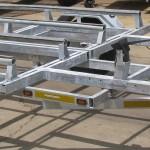 Galvanized double jet ski trailer4