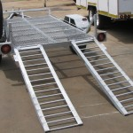 Galvanized machine loading trailer3