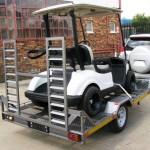 Golf cart trailer1