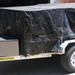 Heavy duty 3.5 ton commercial trailer with PVC cover1