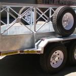 Heavy duty 3.5 ton commercial trailer3