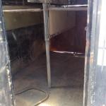 Horse box trailer refurb before