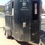 Horse box trailer refurb before1