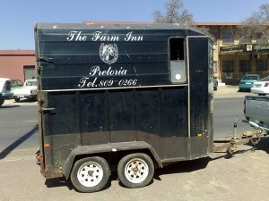 Horse box trailer refurb before2