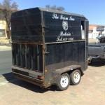 Horse box trailer refurb before3