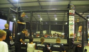 MMA fighting cage 1