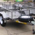 Mini commercial trailers
