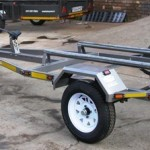 Non tilt jet ski trailers with towbar fitment1