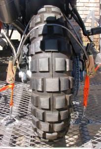 Rear wheel tie down bracket2