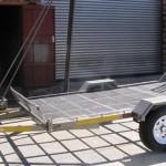 Side by side trailer 14 wheels
