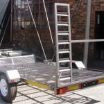 Side by side trailer 14 wheels1