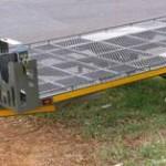 Side loading kart trailer