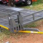 Side loading kart trailer1