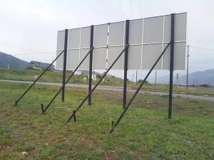 Sign board frame1