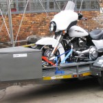Single bike easy loader