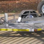 Single bike quad or golf cart easy loader