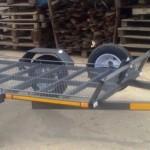 Single bike with double ramp