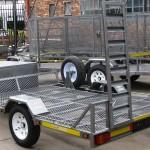 Single golf cart trailer - www.xfactorsport.co.za2