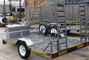 Single golf cart trailer - www.xfactorsport.co.za2