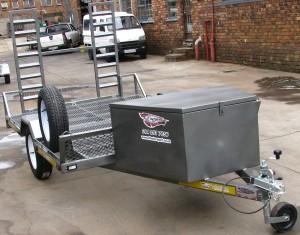 Single golf cart trailer - www.xfactorsport.co.za3