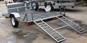 Single golf cart trailer - www.xfactorsport.co.za4