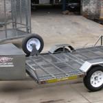 Single golf cart trailer - www.xfactorsport.co.za