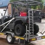 Single side by side trailer - www.xfactorsport.co.za