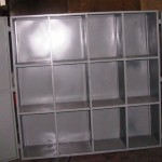Steel cabinet made from 2mm plate