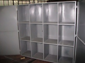 Steel cabinet made from 2mm plate2