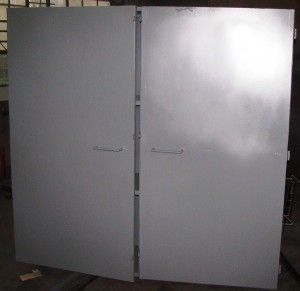 Steel cabinet made from 2mm plate3