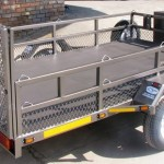 Triple bike and commercial trailer1