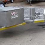 Triple bike trailer with 14 inch wheels - www.xfactorsport.co.za1