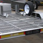 Triple bike trailer with 14 inch wheels - www.xfactorsport.co.za2