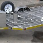 Triple bike trailer with 14 inch wheels - www.xfactorsport.co.za