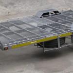 Triple quad trailer 14 inch wheels