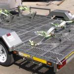 Triple superbike trailer
