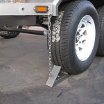 Wheel chocks for 3.5 Ton commercial trailer - www.xfactorsport.co.za1