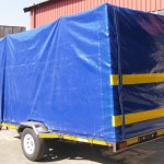 4m x 1.7m x 2m commercial trailer with PVC cover