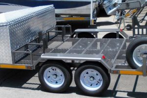 Custom-triple-bike-trailer-with-extra-large-nose-cone-www.xfactorsport.co_.za_