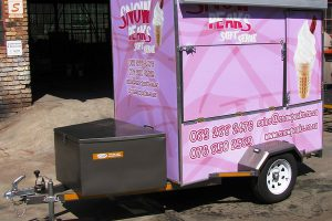 Enclosed-ice-cream-vending-trailer